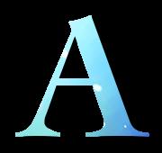 Alphabet Buchstabe A