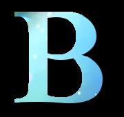 Alphabet Buchstabe B