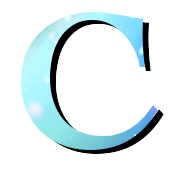 Alphabet Buchstabe C