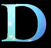 Alphabet Buchstabe D
