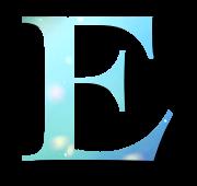 Alphabet Buchstabe E