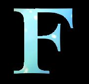 Alphabet Buchstabe F