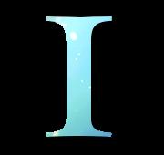 Alphabet Buchstabe I