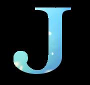 Alphabet Buchstabe J