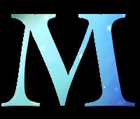 Alphabet Buchstabe M