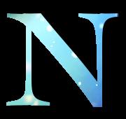 Alphabet Buchstabe N