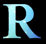 Alphabet Buchstabe R