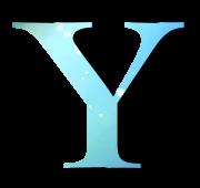 Alphabet Buchstabe Y