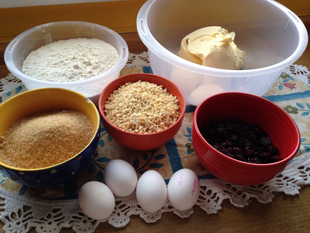 Zutaten Cranberry Cookies
