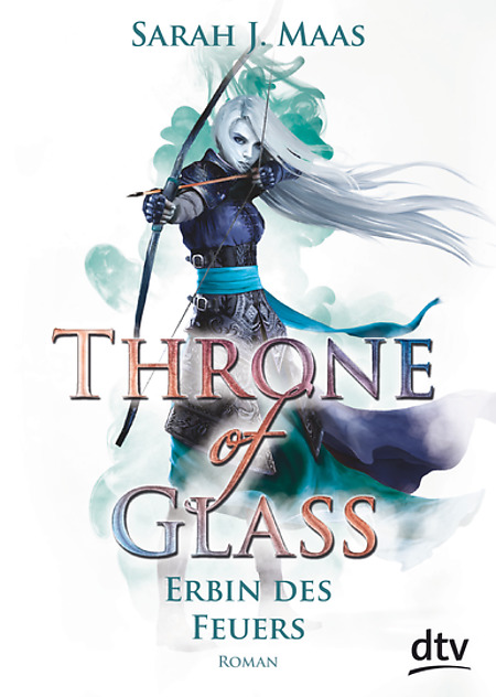 Sarah J. Maas Throne of Glass Erbin des Feuers Buchcover