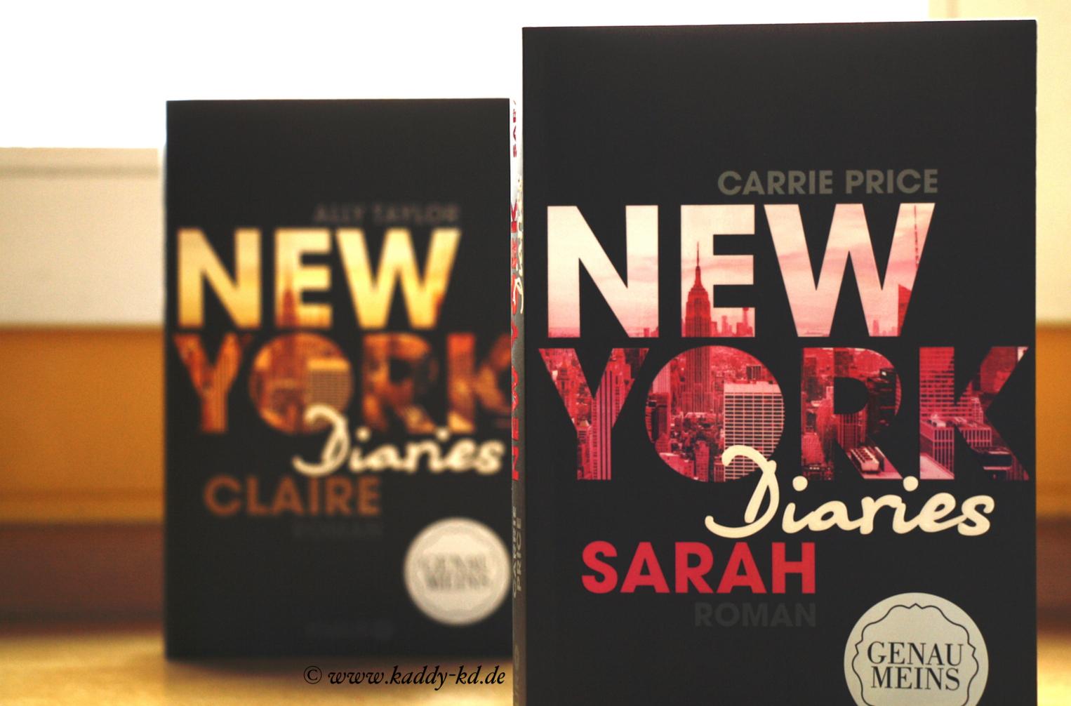 New York Diaries Reihe Sarah und Claire