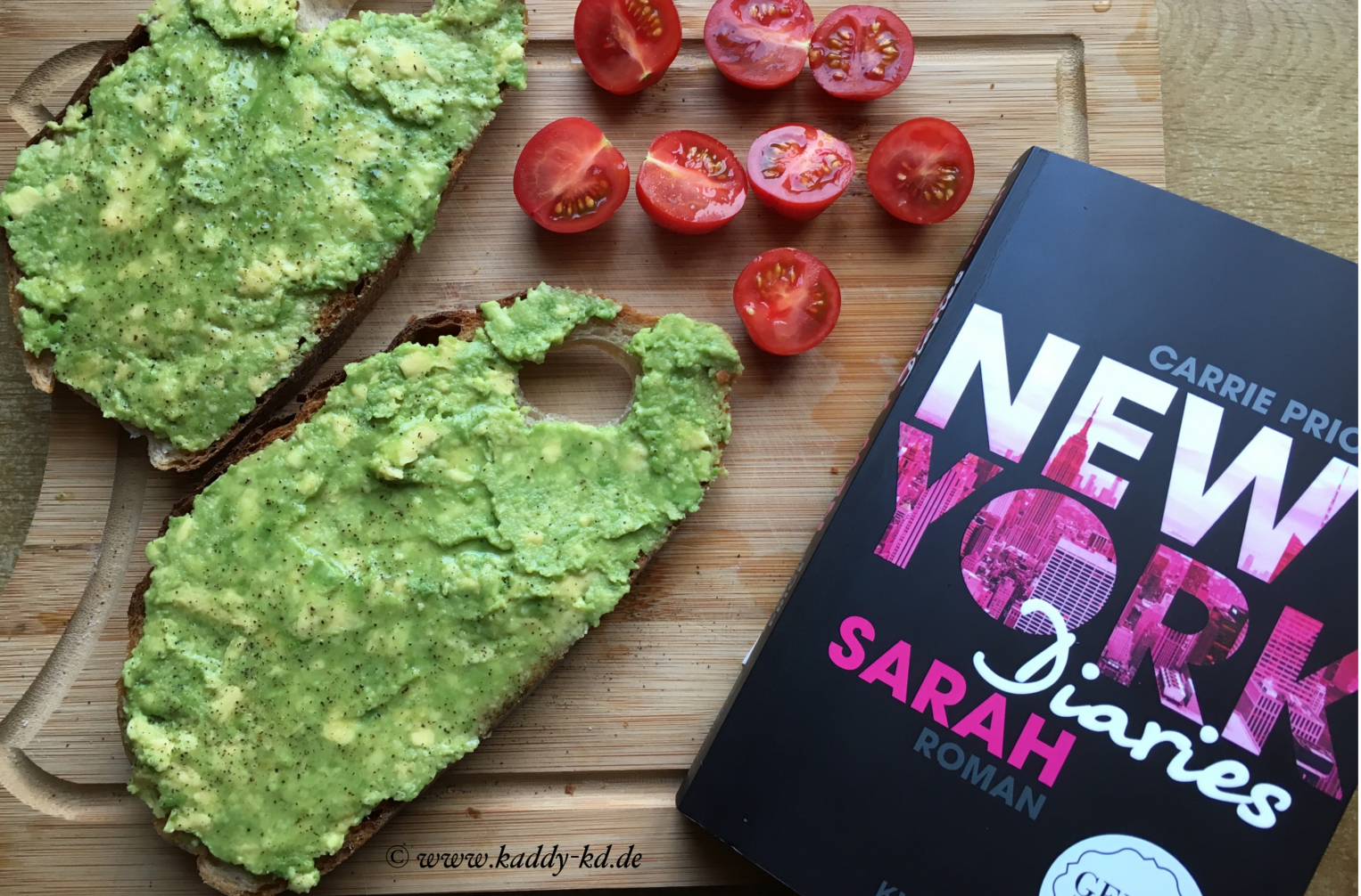 New York Diaries Sarah und Avocadobrot