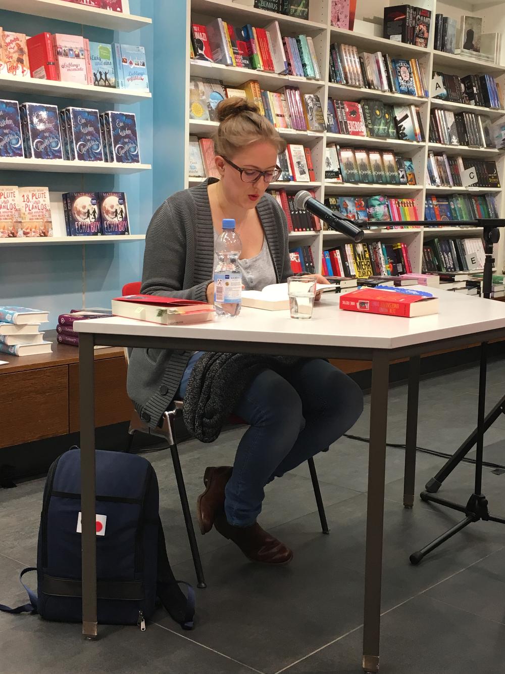 Anne Freytag Den Mund voll ungesagter Dinge Lesung Stuttgart Wittwer