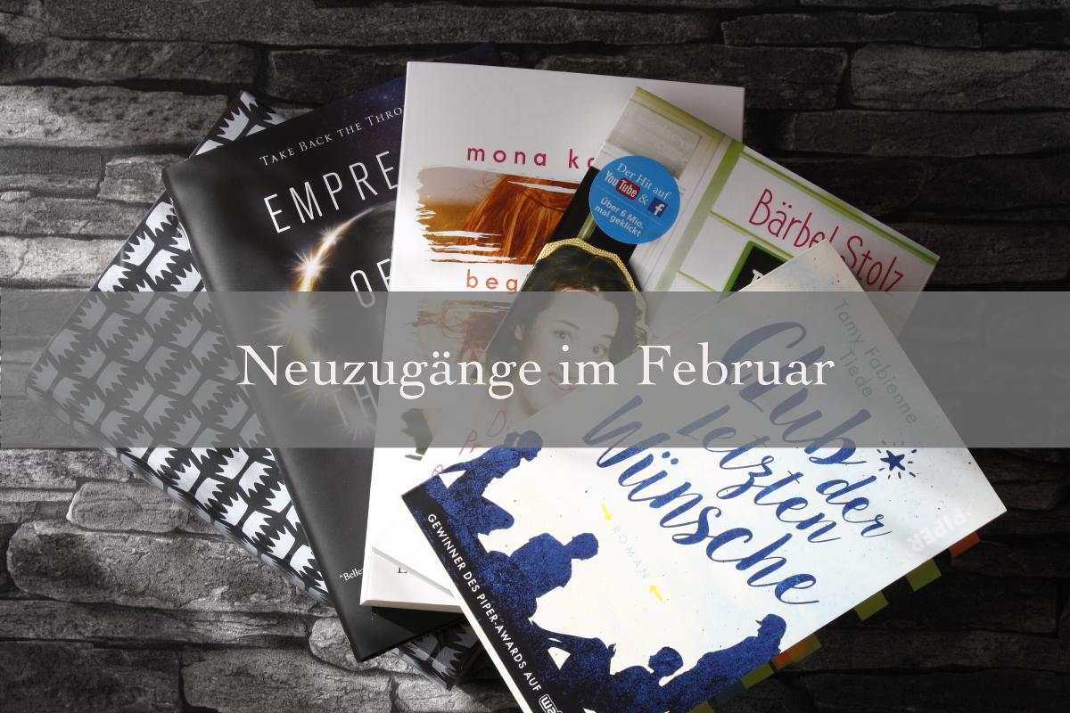 Bücher Neuzugänge Februar