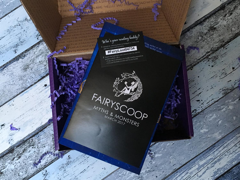 FairyLoot March 2017 one year anniversary fairyscoop