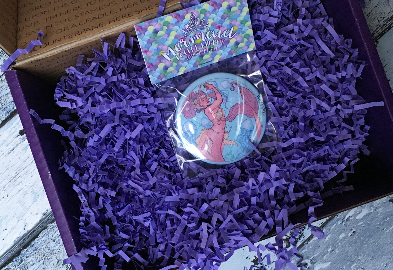 FairyLoot March 2017 one year anniversary mermaid mirror