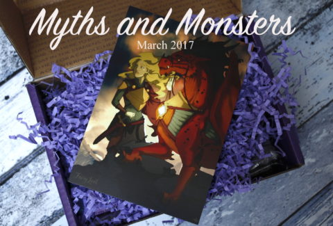 FairyLoot March 2017 one year anniversary myths and monsters