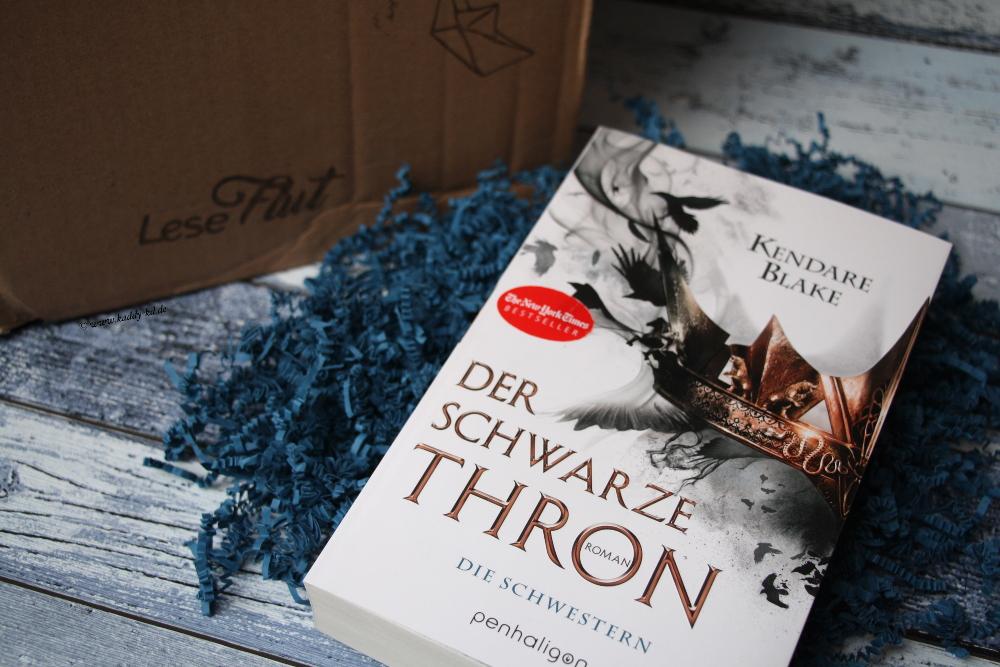 Leseflut Unboxing Mai 2017 Buch Der schwarze Thron