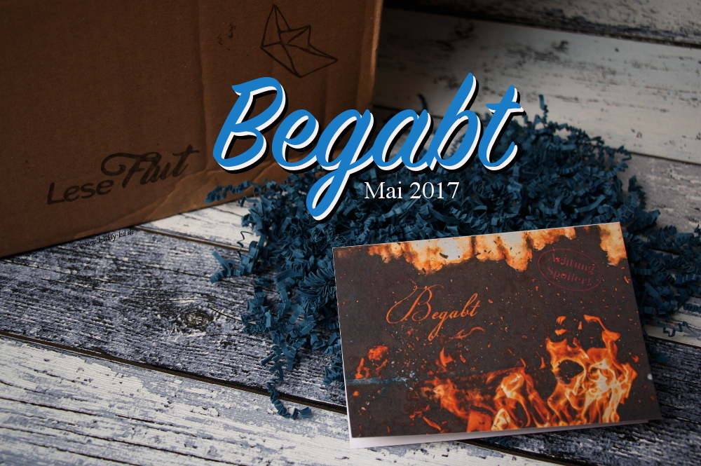 Leseflut Buchbox Unboxing Thema begabt
