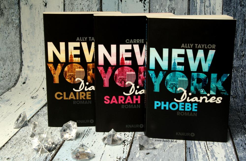 New York Diaries Phoebe Sarah Claire