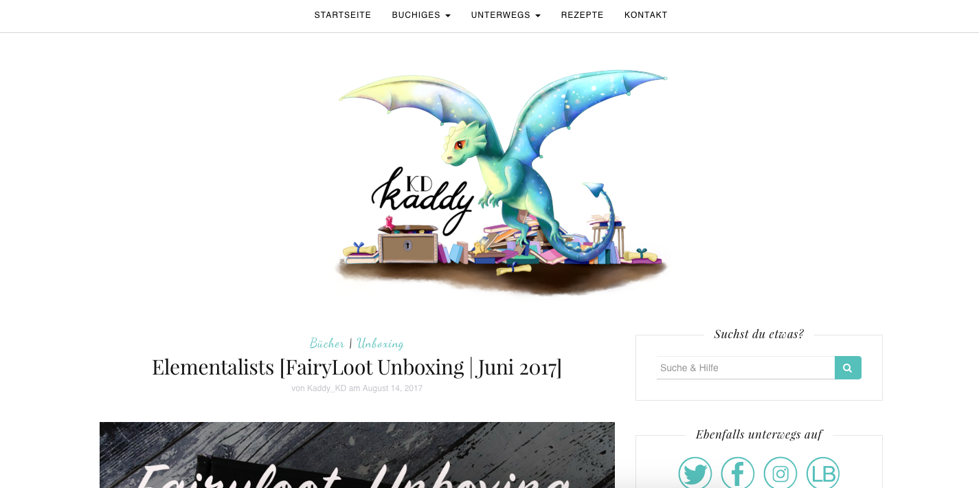 Neues Blogdesign kaddy-kd auf wordpress