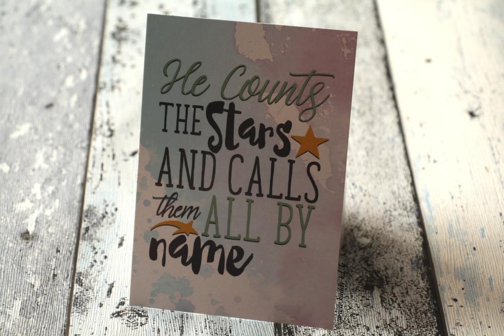 Lookingheart Unboxing Juli 2017 Wish upon a star Inhalt Karte