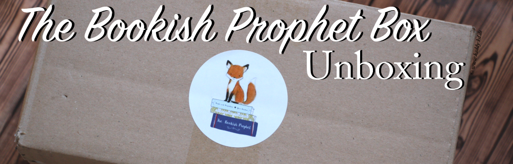 The bookish prophet box unboxing header