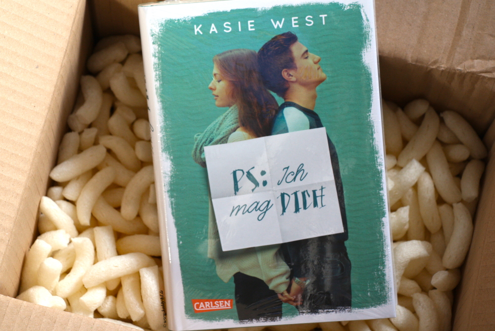 The Bookish Prophet Box August Unboxing / Unpacking Love letters at bookish high PS: Ich mag dich Kasie West