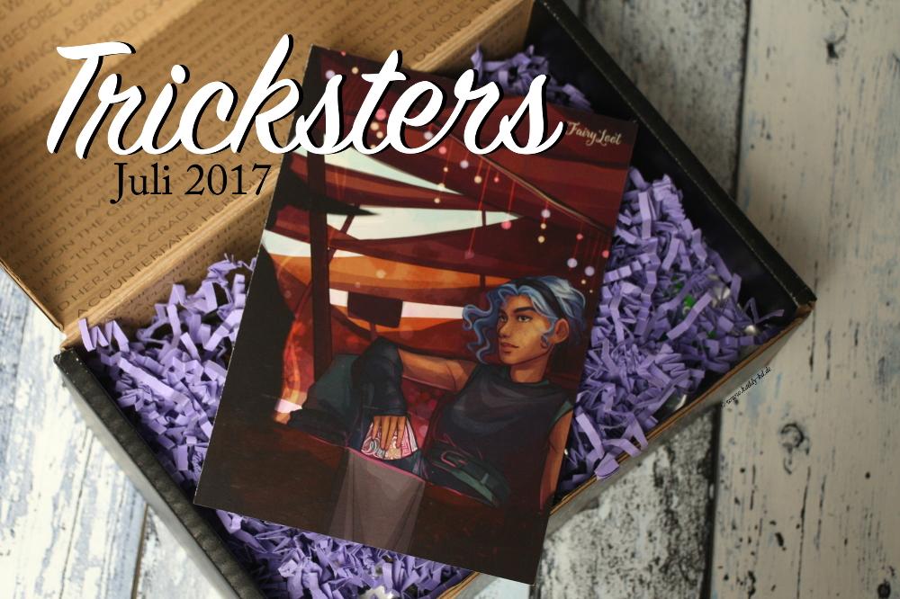 FairyLoot Unboxing Juli 2017 Trickster Themenkarte / Spoilerkarte