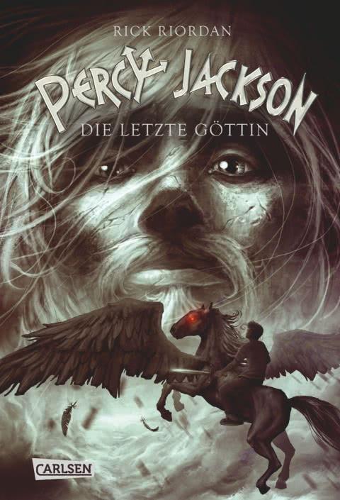 Rick Riordan - Percy Jackson Die letzte Göttin Buchcover Percy Jackson Reihe